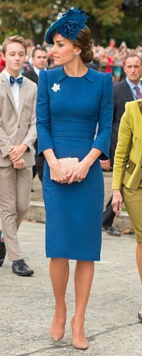 24 Sep 2016 - Duchess of Cambridge on Day 1 of Royal Tour Canada. Click to read more