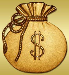 """Gold Bag""  Robert C. Tracy Digital Graphic"