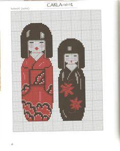 Gallery.ru / Фото #4 - Japon au point de croix - patrizia61