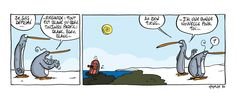 """A l'occasion de la #EarthHour le 19 mars prochain, Bruno Madaule publie chaque jour un nouveau strip de ses gags des """"Givrés"""" à propos des conséquences du réchauffement climatique sur la banquise de ses pingouins fêlés. Une manière humoristique de soutenir une importante opération de conscientisation organisée par le World Wildlife Fund."""