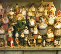Prim Christmas Gathering of...belsnickles.