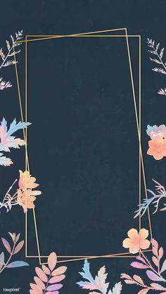 Flower Background Wallpaper, Framed Wallpaper, Bear Wallpaper, Watercolor Wallpaper, Background Patterns, We Bare Bears Wallpapers, Cute Wallpapers, Flower Backgrounds, Wallpaper Backgrounds