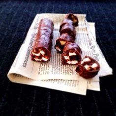 チョコレート オレオを使ったレシピ☆バレンタインにもぴったりなマシュマロ入りチョコバー