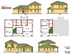 Samples of our House Plans 5 Bedroom House Plans, Free House Plans, House Layout Plans, Family House Plans, Country House Plans, Small House Design, Cool House Designs, Modern Bungalow House Plans, Single Storey House Plans
