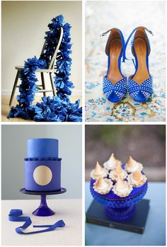 Cobalt Blue wedding ideas http://www.theperfectpalette.com/2014/05/cobalt-blue-wedding-ideas-perfect-for.html