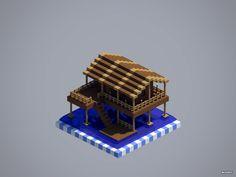Stilt shack