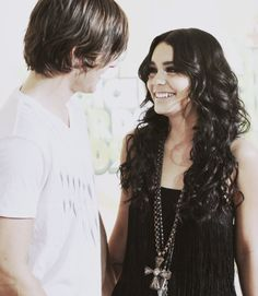 aww, Troy (Zac Efron) and Gabriella (Vanessa Hudgens)