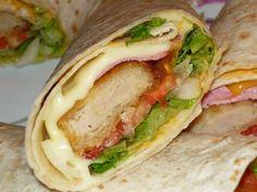 Recette Entrée : Wraps aux nuggets façon fast food!!! par Alana81