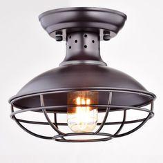 Industrial-Vintage-Metal-Cage-Pendant-Lighting-Semi-Flush-Mount-Ceiling-Light