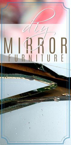 Are you loving this glam mirrored furniture trend? Learning how to cut your own glass and mirror has many benefits. You can create any shape or design and save time and money by re-purposing old mirrors! Diy Mirrored Furniture, Furniture Makeover, How To Cut Mirror, Glam Mirror, Old Mirrors, Neon Signs, Easy, Crafts, Inspiration