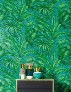 Foto Tapete mit Pflanzen