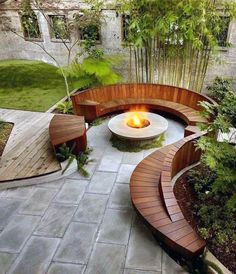 Affordable Ways to Update Your Patio this Summer Affordable backyard patio decor ideas by Posh Pennies.Affordable backyard patio decor ideas by Posh Pennies. Backyard Seating, Fire Pit Backyard, Backyard Patio, Backyard Landscaping, Landscaping Ideas, Outdoor Seating, Backyard Designs, Backyard Furniture, Furniture Ideas