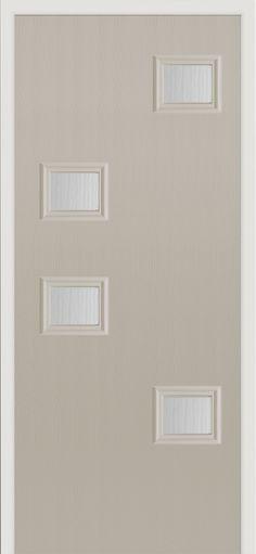 Our Popa composite door in 'pebble' finish. #exteriordoorstyles
