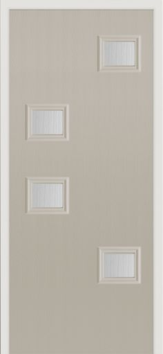 Our Popa #composite #door in 'pebble' finish.