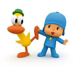 Pocoyo: found this online quite by accident. Narrated by Stephen Fry. Possibly aimed at the Asian market, but I love the simplicity of the animation. Reminds me a bit of the 'Pingu' aesthetic.