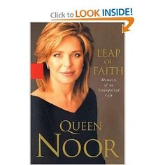 This is the memoir of an American graduate of Princeton who became Queen Noor of Jordan, the wife of King Hussein.