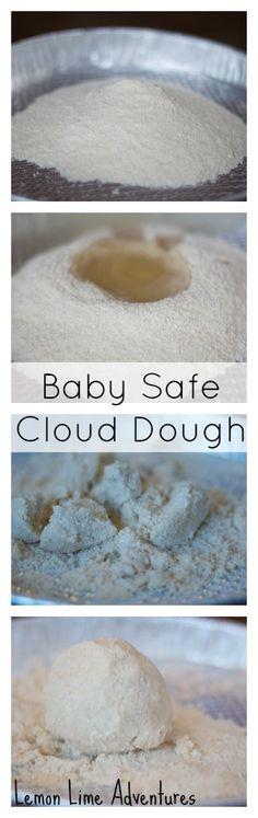 2 Step Cloud Dough