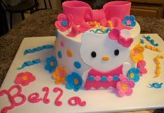 hello kitty cake By shannycakers on CakeCentral.com