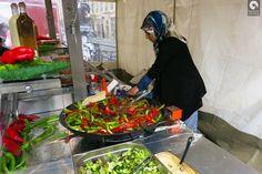 Street food stand in Berlin
