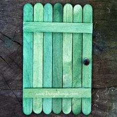 """Revelation God's Warning to Seven Churches-""""Behold, I Stand at the Door"""" Popsicle Stick Door Craft Popsicle Stick Houses, Popsicle Stick Crafts, Craft Stick Crafts, Craft Sticks, Wood Sticks, Diy Fairy Door, Fairy Doors, Door Crafts, New Crafts"""