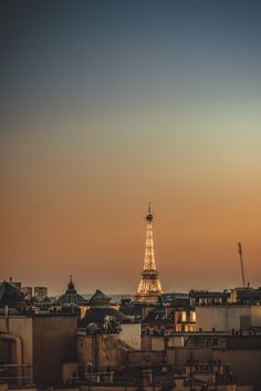 Summer night in Paris, Île-de-France_ France