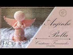 Crochet Angels, Crochet Art, Crochet Amigurumi Free Patterns, Crochet Videos, Amigurumi Doll, Baby Toys, Quilling, Place Card Holders, Christmas Ornaments