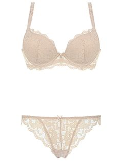 e83da3c8d557f Burvogue Elegant Women Intimate Sheer Lace Push Up Bra Sets Lingeries Bra  Sets