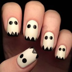 Are you looking for easy Halloween nail art designs for October for Halloween party? See our collection full of easy Halloween nail art designs ideas and get inspired! New Nail Art, Nail Art Diy, Easy Nail Art, Diy Art, Halloween Acrylic Nails, Halloween Nail Designs, Easy Halloween Nails, Halloween Makeup, Fun Nails