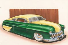 Chevy by DominikScherrer on DeviantArt - Lead Sled by DominikScherrer - Car Tv Shows, Vw Bus T2, 32 Ford Roadster, Cool Car Drawings, Old Hot Rods, Chevy C10, Chevrolet Chevelle, Lead Sled, Futuristic Cars