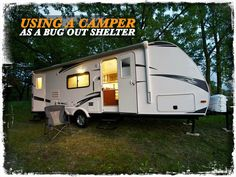 Using a Camper as a Bug out Shelter