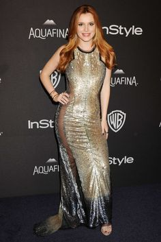 Bella Thorne at The Golden Globes 2016 After Party