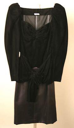 1986 Yves Saint Laurent Evening dress  Metropolitan Museum of Art, NY