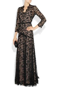 """as worn by the Duchess of Cambridge.."" Temperley London Amoret lace gown - $ 3995"