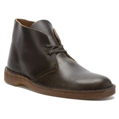 Clarks Originals Desert Boot Men's Leather Shoes 66305 Dark Green Horween