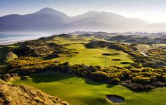 """Royal County Down: A golf vacation to dream of - """"Rugged, windblown"""" Golf Digest says """"there is no lovelier place in golf."""""""