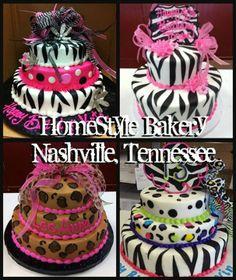 Classy 50th Birthday Cake HomeStyle Bakery Nashville TN