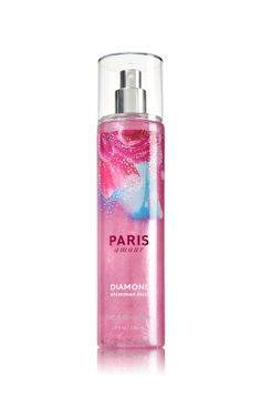 Paris Amour - Diamond Shimmer Mist - Signature Collection - Bath & Body Works - Dazzle with Diamonds! Infused with real diamond dust, our luxurious Diamond Shimmer Mist kisses skin with irresistible fragrance and gorgeous sparkle.