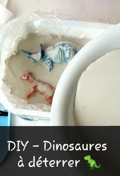 Beaucoup d'enfants adorent les dinosaures ! Pourquoi ne pas préparer une chouette activité avec du plâtre pour jouer le.s petit.e.s paléontologue.s ! Geology, Happy, Arm Cast, Ser Feliz, Being Happy