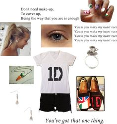 One Direction Concert outfit, created by onedirection331 on Polyvore