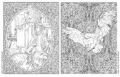 Blogwhsmithcouk Preview The Harry Potter Colouring Book
