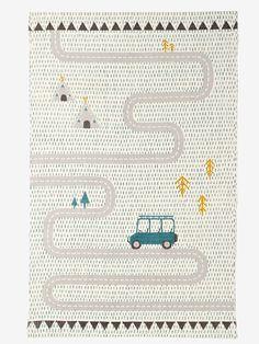 """Kinderteppich """"Safari"""" von Vertbaudet in multicolor hellgrun - Nur € 2,95 Versand! Kinderzimmer jetzt bei Vertbaudet bestellen!"""