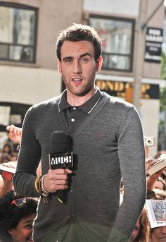 Matthew Lewis has that look with the eyebrow. I call it: the panty dropper.
