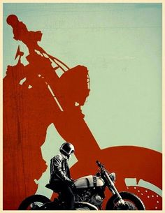 MotoMondiale: Motorbikes & C. Motorcycle Posters, Motorcycle Style, Women Motorcycle, Car Posters, Gs 1200 Adventure, Pop Art, Cafe Racer Style, Cafe Racing, Cycling Art