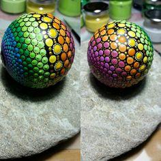 Neuer Mandala Stein Ball.Wird morgen eingestellt