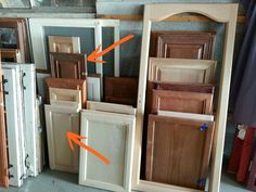 Easy Cabinet Door Projects
