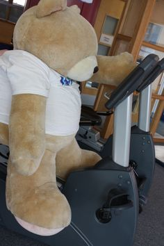 Challenge Charlie getting fit for his first fundraising challenge