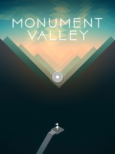 Monument Valley   Splash Screen (End Chapter 1)   UI, HUD, User Interface, Game Art, GUI, iOS, Apps, Mobile Games, Grahic Desgin, Puzzle Game, Brain Games, ustwo   www.girlvsgui.com