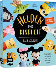 DIY-Dienstag – Jedi, ein weiser – EMF Verlag Knitting Stitches, Minnie Mouse, Nostalgia, Teddy Bear, Toys, Disney Characters, Handmade, Minions, Harry Potter