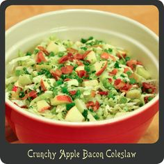 Apple Bacon Coleslaw