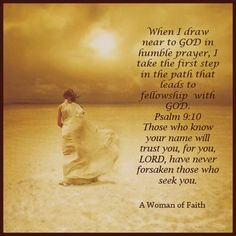 Faith is my guide